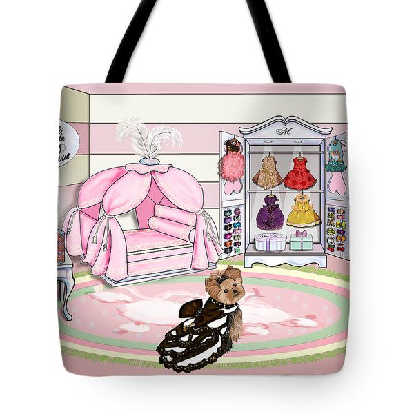 Millie Larue's French Room Tote Bag by Catia Cho