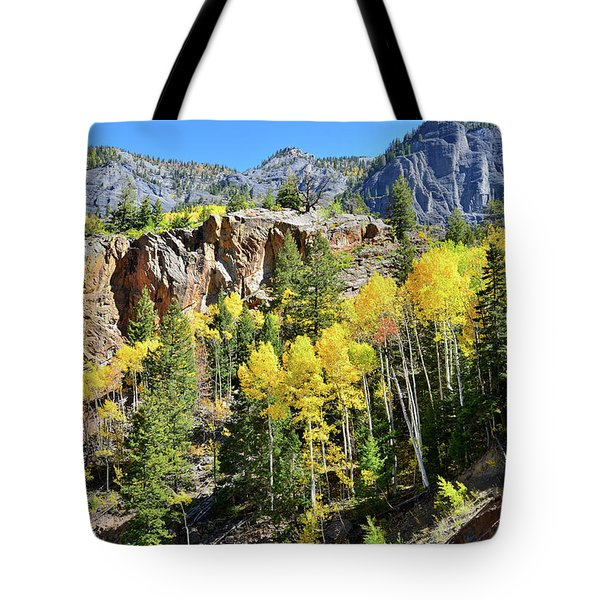 Tote Bag featuring the photograph Million Dollar Highway 550 by Ray Mathis