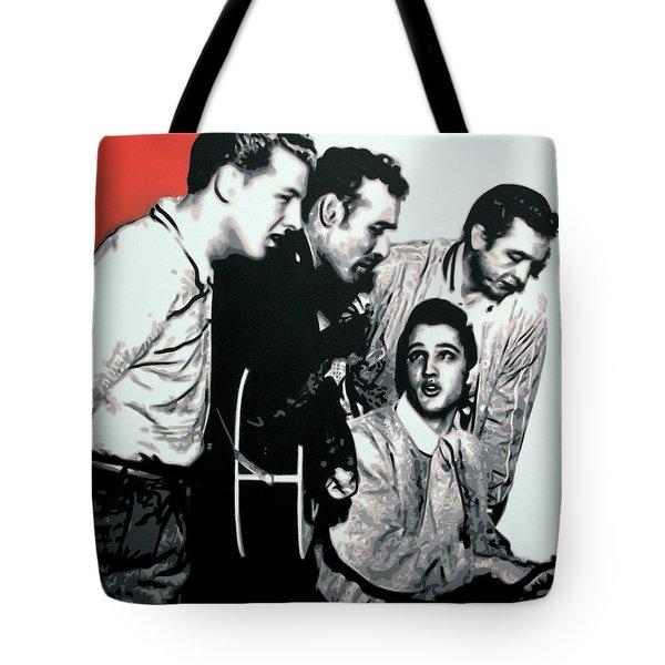 Million Dollar Quartet Tote Bag
