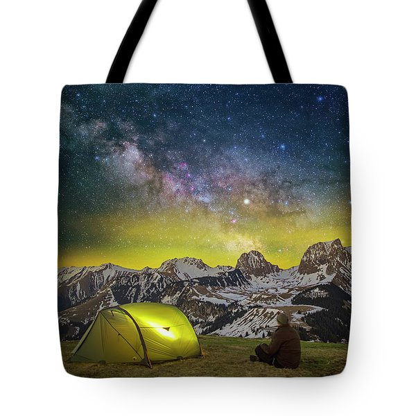 Million Star Hotel Tote Bag
