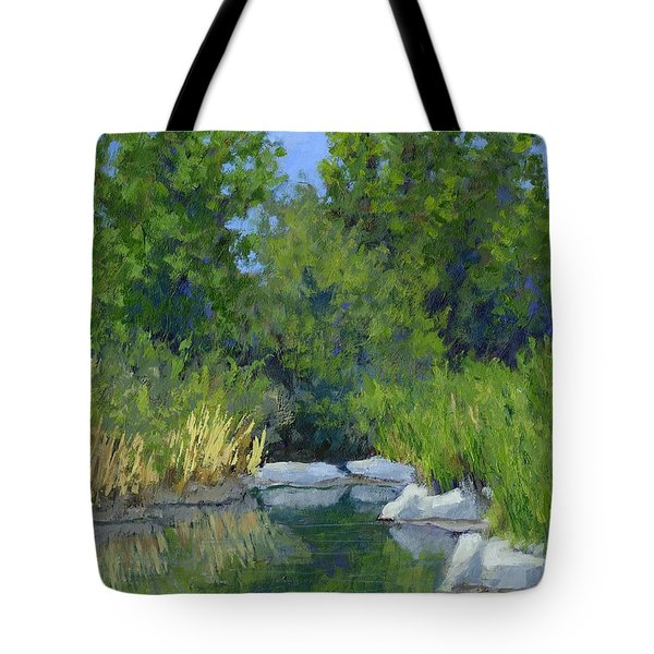Millrace Pond Tote Bag
