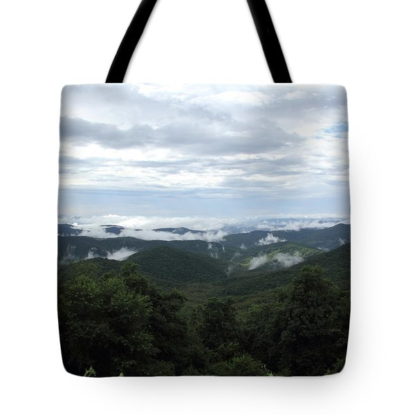 Mills River Valley View Tote Bag