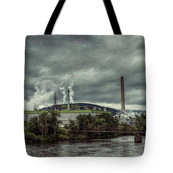 Tote Bag featuring the photograph Milltown by Guy Whiteley