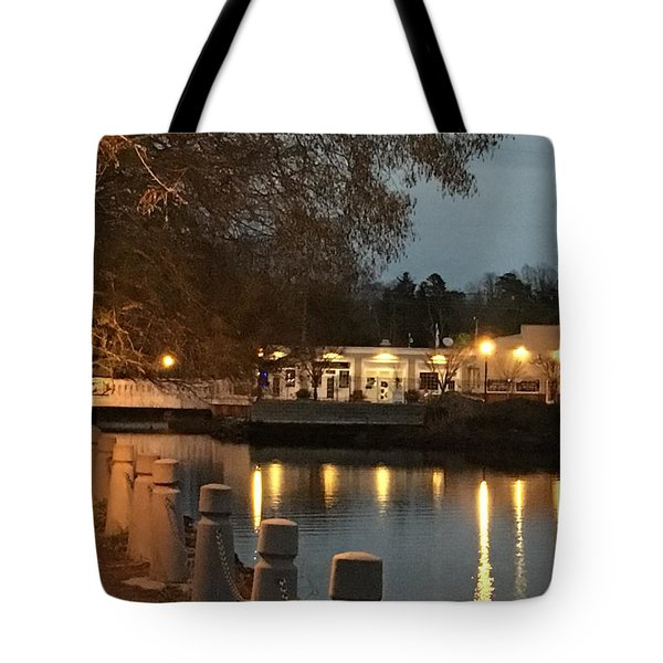 Milton By Night Tote Bag