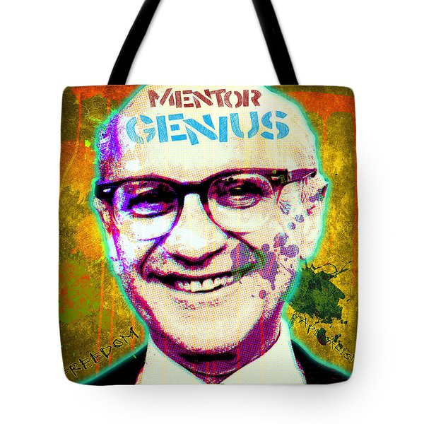 Milton Friedman Tote Bag