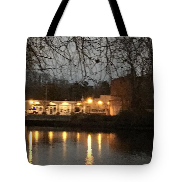 Milton On The Water Tote Bag
