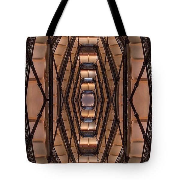 Milwaukee City Halll Atrium Tote Bag