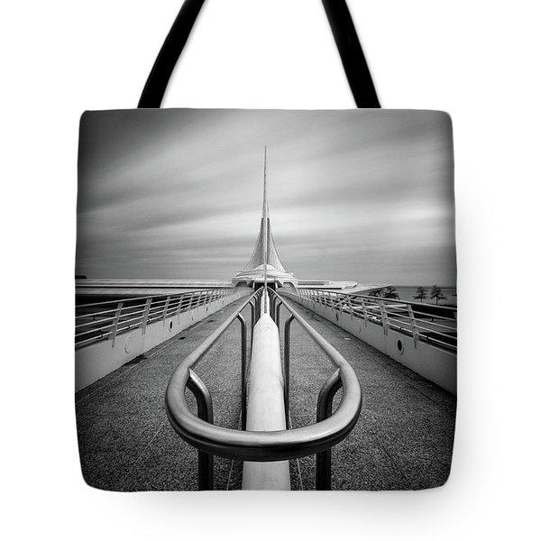 Milwaukee Quadracci Pavilion Tote Bag