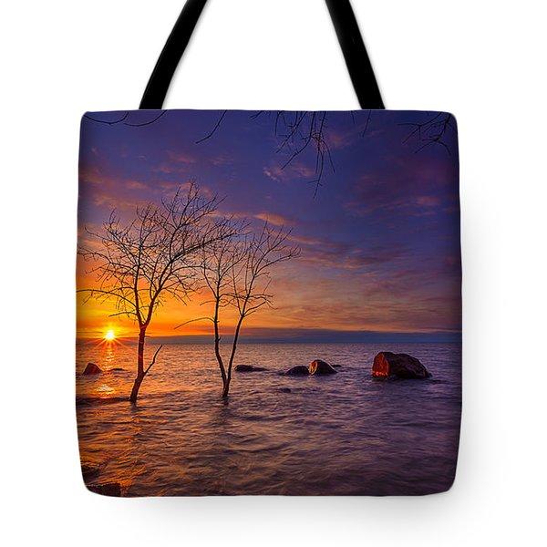 Milwaukee Rising Tote Bag