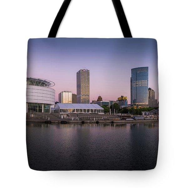 Milwaukee Sky Tote Bag