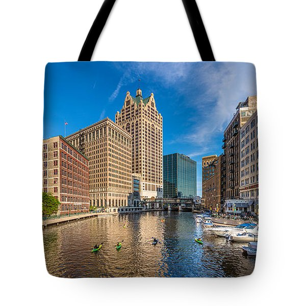 Milwaukee Summer Nights Tote Bag