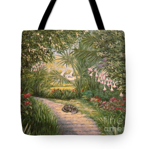 Mimi's Path Tote Bag