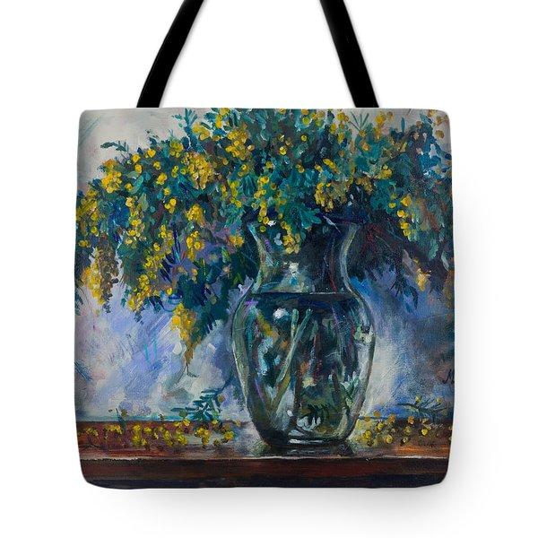 Mimosa Tote Bag
