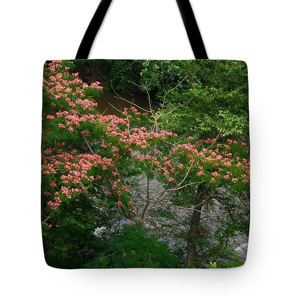 Mimosa On The Dan River Tote Bag