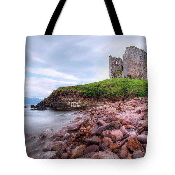 Minard Castle - Ireland Tote Bag