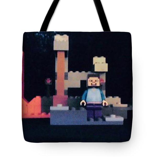 Mincraft Home Tote Bag