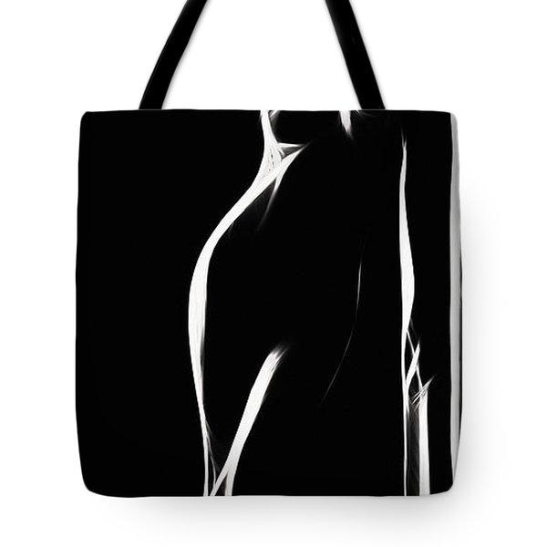 Mind Art Girl  Tote Bag