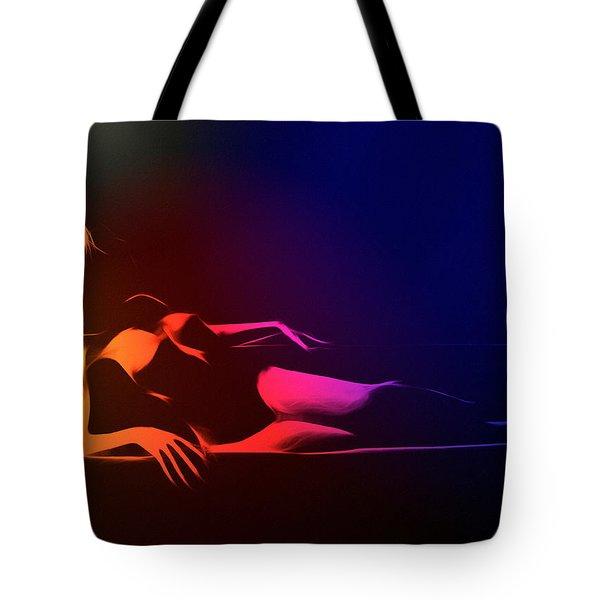 Mind Art Roxanne Color Tote Bag