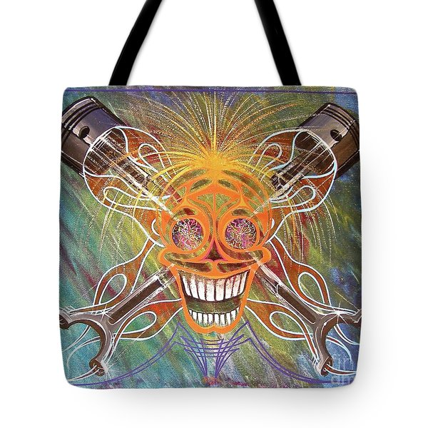 Mind Blown Motorhead  Tote Bag