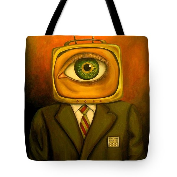 Mind Changer Tote Bag by Leah Saulnier The Painting Maniac