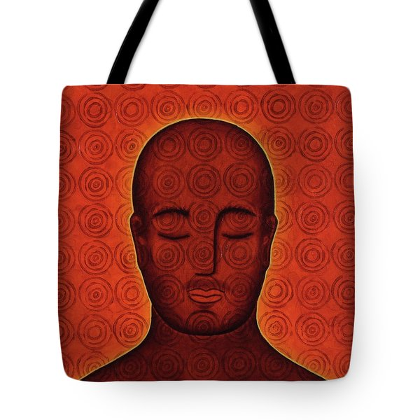Tote Bag featuring the mixed media Mind Circles by Gloria Rothrock
