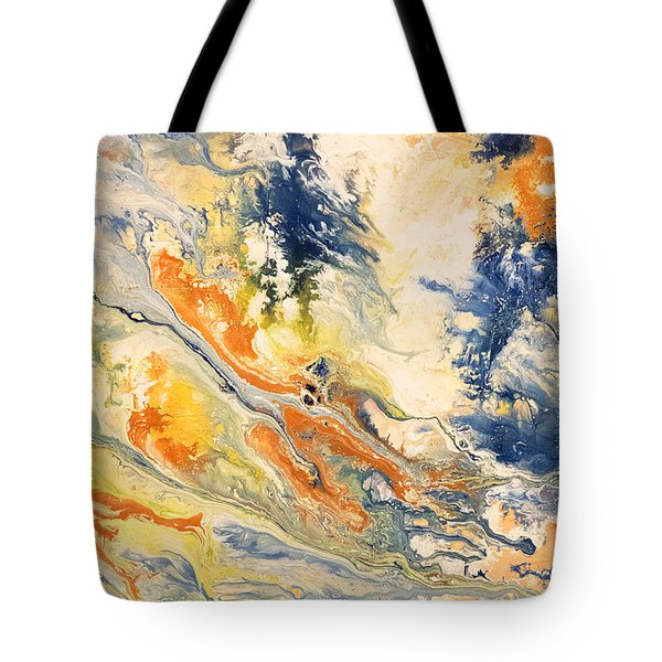 Mind Flow Tote Bag by Gallery Messina