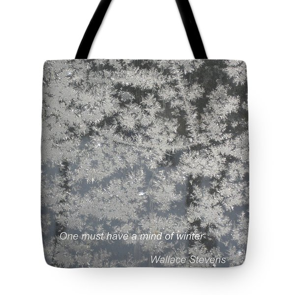 Mind Of Winter Tote Bag
