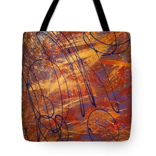 Mind Reflection  Tote Bag