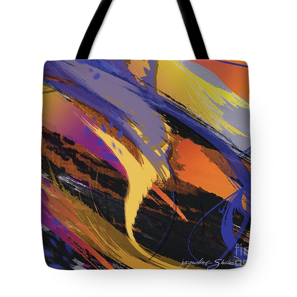 Mind Speed Tote Bag