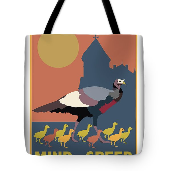 Mind Your Speed Tote Bag