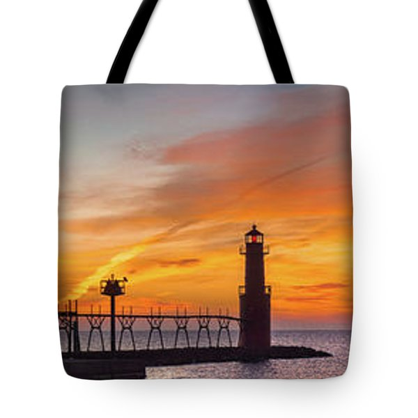 Tote Bag featuring the photograph Mine Eyes Have Seen The Glory by Bill Pevlor