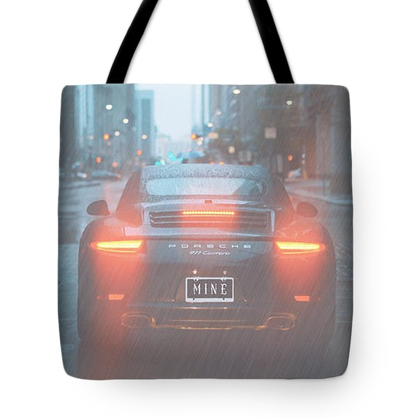 Mine In The Rain Tote Bag