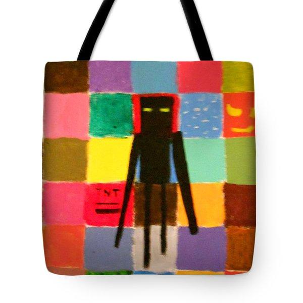 Minecraft Enderman Tote Bag