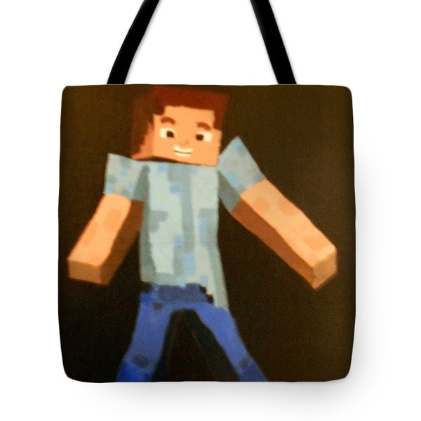 Minecraft Steve Tote Bag