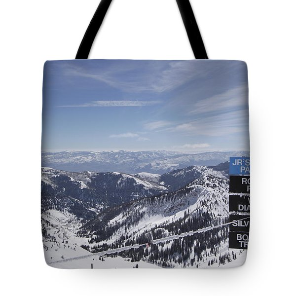 Mineral Basin Tote Bag by Adam Jewell