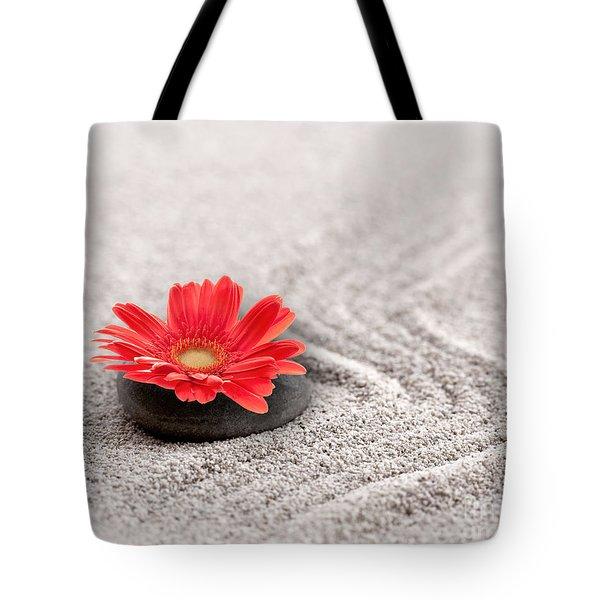 Mineral Flower Tote Bag