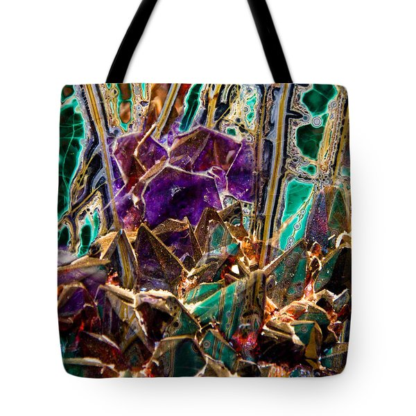 Mineral Maelstrom Tote Bag