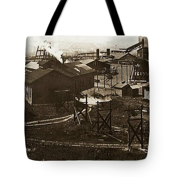 Mineral Springs Colliery Parsons Gravel Hill Scranton Patch Area Of Wilkes Barre Pa 1913 Tote Bag
