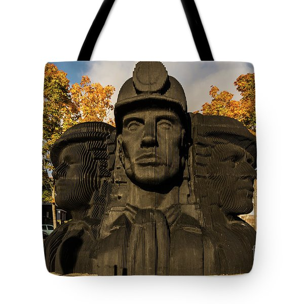 Miners In The Autumn Tote Bag