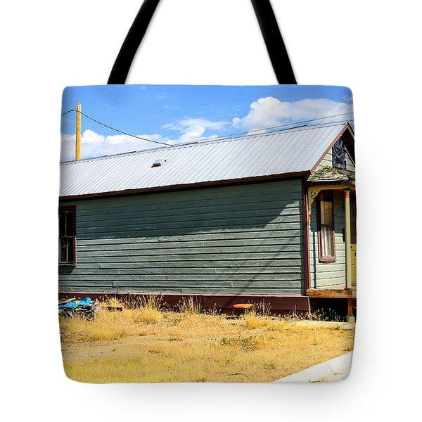 Miners Shack In Montana Tote Bag