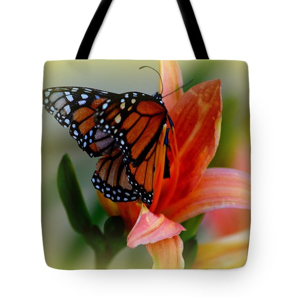 Mingle With A Monarch Tote Bag