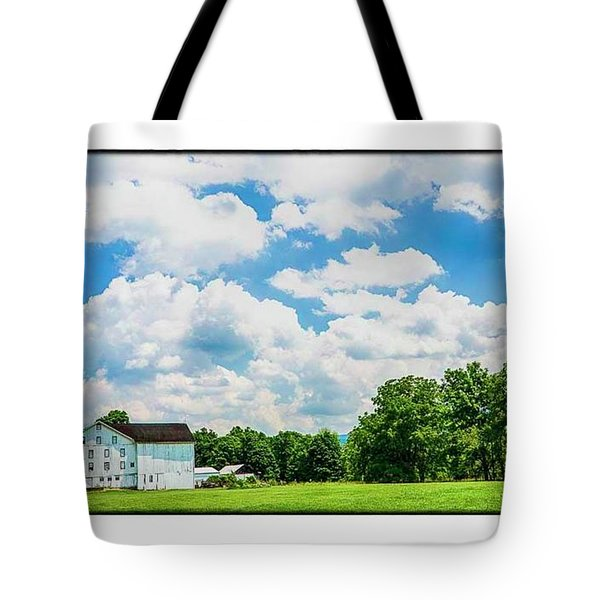 Mingoville Clouds Tote Bag by R Thomas Berner