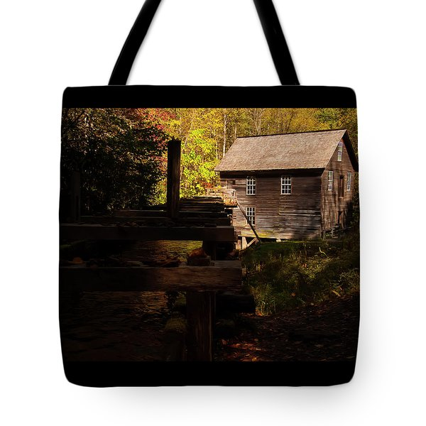 Tote Bag featuring the photograph Mingus Mill 1 by Chris Flees