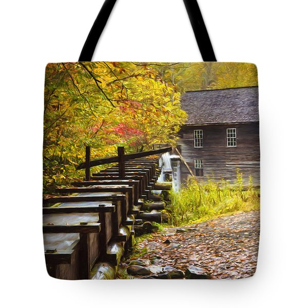 Mingus Mill Painted Tote Bag