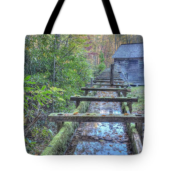 Tote Bag featuring the photograph Mingus Mill by Paul Schultz