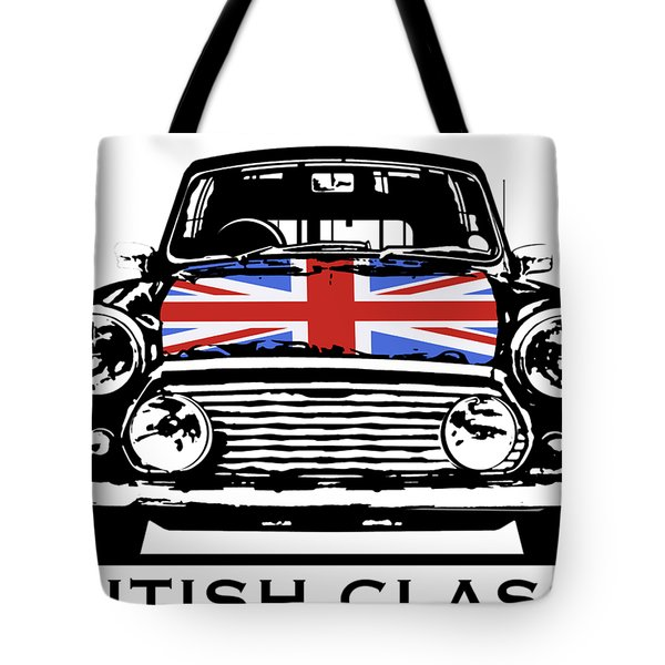 Mini British Classic Tote Bag