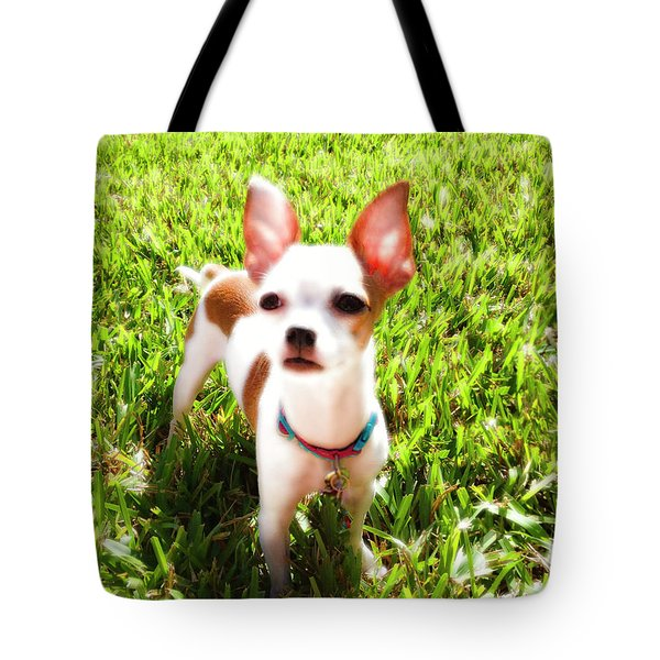Mini Dog Tote Bag