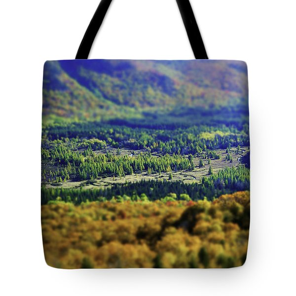 Tote Bag featuring the photograph Mini Meadow by Brad Wenskoski