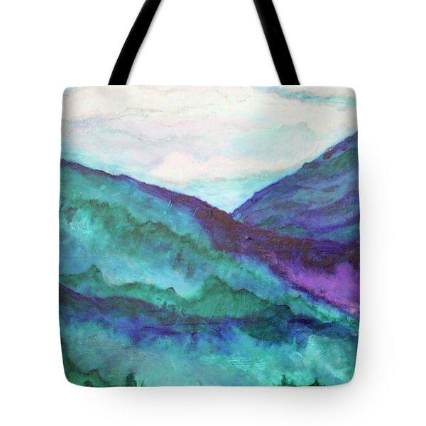 Mini Mountains Majesty Tote Bag