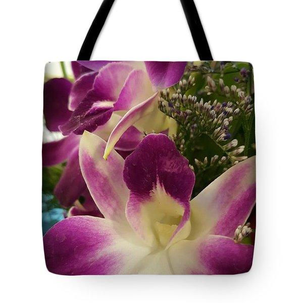 Mini Orchids  Tote Bag